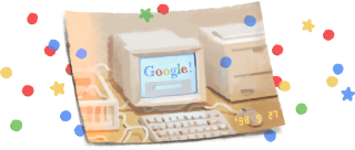Aniversario Google